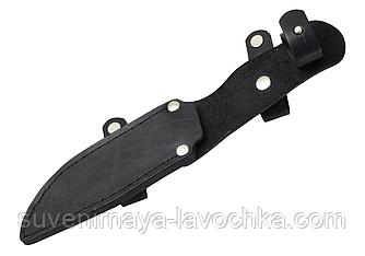 Чехол для нескладного ножа, телячья кожа 2386 M (ПОВОРОТНЫЙ)