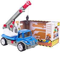 "Машина игрушка ""Автокран"" ТехноК 3893"