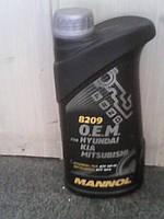 Синтетическое трансмиссионное масло Mannol 8209 O.E.M. for Hyundai, KIA, Mitsubishi (TYPE SP-III)  1L
