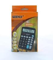 Настольный калькулятор офисный бухгалтерский Kenko 837-12