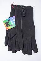 Классические женские перчатки черного цвета