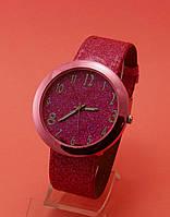 """Женские наручные часы  с красным ремешком """"Коста Брава"""""""