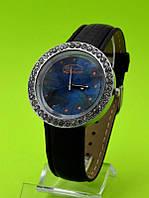 """Женские наручные часы на кожаном ремешке """"Ночное небо"""""""