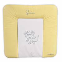 Пеленальный матрасик BABY POINT JESICA желтый (310.14.14.010)