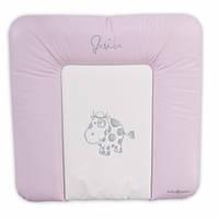 Пеленальный матрасик BABY POINT JESICA розовый (310.14.14.012)