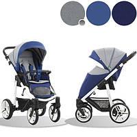 Детская прогулочная коляска Bebetto Nico (SL387) синий с серым (503.23.16.SL387)