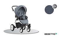 Детская прогулочная коляска Bebetto Rainbow (W16) синий (503.30.15.W16)