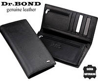 Стильный мужской кошелек портмоне из натуральной кожи. ЕК71