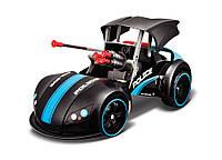 Автомодель - трансформер  на р/у Street Troopers Project 66 чёрно-синий
