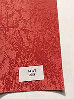 Рулонная штора Агат красная