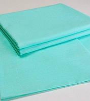 Двуспальный комплект постельного белья мятного цвета