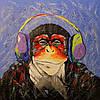 «Музыкальный фан» картина маслом