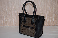 Черная женская сумка Сeline
