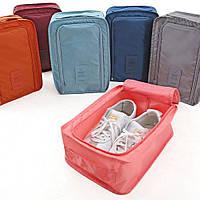 Органайзер - сумочка для обуви. Терракот