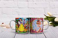Мультяшная чашка для маленькой принцессы