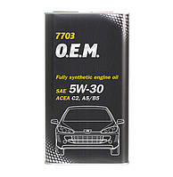 Моторное масло Mannol O.E.M. for Peugeot Citroen SAE 5W-30 A5/B5 C2 4 л Metal
