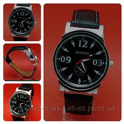 Мужские часы на ремне Mingbo-R126-3