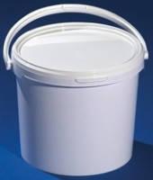 Ведро пластиковое 15.7л(пищевое)белое