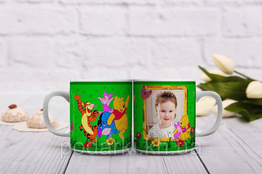 Мультяшные чашки для малыша