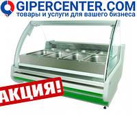 Тепловая витрина Cold (Польша) W-12 PVP (+30...+60°С, 1300х1200х1210 мм)