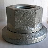 Гайка (колесная) М18х1,5 с шайбой (оцинкованная) (10кл.) DIN74361H