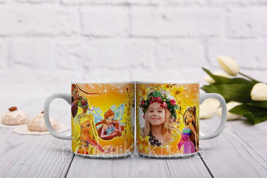 Сказочная чашка для маленькой феи