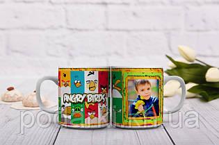 Мультяшная чашка Angry Birds  для Вашего ребенка