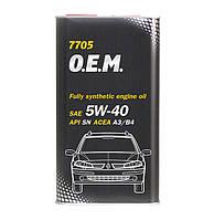 Моторное масло Mannol O.E.M. Renault Nissan SAE 5W-40 A3/B4 4 л Metal