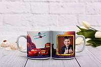 Чашка для маленького любителя мультфильмов