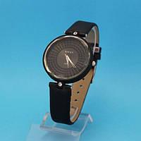 """Женские наручные часы с узким кожаным ремешком """"Амель"""""""