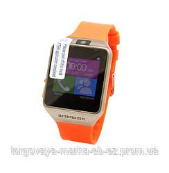 """Наручные часы на силиконовом браслете """"Мадина"""", оранжевые"""