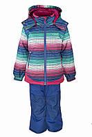 Зимний костюм для девочек Gusti Boutique GWG 3003 DAZZLING BLUE. Размеры 98 - 128., фото 1