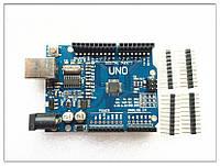 Arduino Uno - плата микроконтроллера, базирующаяся на Atmega328 (Китай)