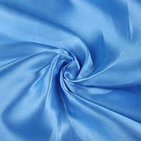 Ткань Атлас Голубой