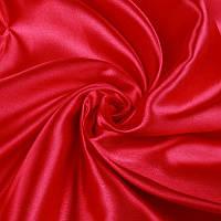 Ткань Атлас Красный