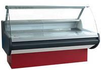 Витрина холодильная «Belluno»  с гнутым стеклом динамика