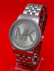 """Женские наручные часы на металлическом серебряном ремешке """"Вилмот"""""""