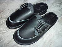 Мужские кожаные тапочки Белста