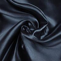 Ткань Атлас Темно-синий