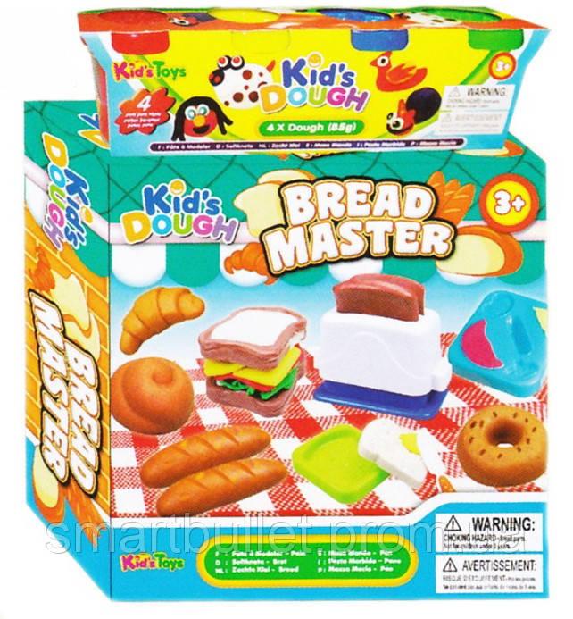 """Тесто для лепки Kid's Dough набор """"Пекарь"""" BREAD MASTER 11765"""