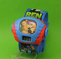 """Детские наручные часы """"Супергерой"""", голубые"""