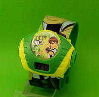 """Детские наручные часы """"Супергерой"""", зеленые"""