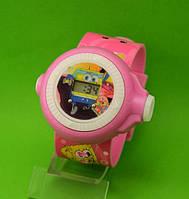 """Детские наручные часы """"Губка Боб"""", розовые"""