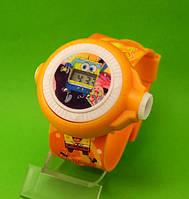 """Детские наручные часы """"Губка Боб"""", оранжевые"""