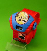 """Детские наручные часы """"Супергерой"""", красные"""