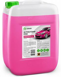 Активная пена Grass «Active Foam Pink» цветная пена, 20 л