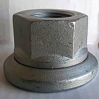 Гайка (колесная) М20х1,5 с шайбой (оцинкованная) (10кл.) DIN74361H