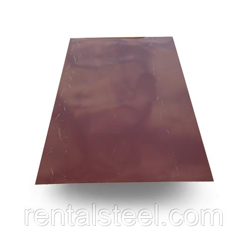 Гладкий лист полимер