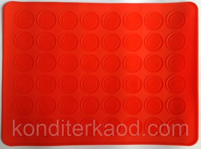Силиконовый коврик для Macarons 39,5 см на 29,5 см