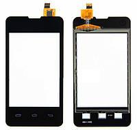 Сенсор для PRESTIGIO MultiPhone 3350 Duo черный